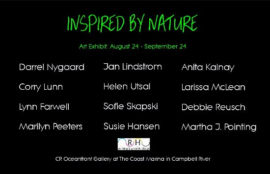 Campbell River, Canadá: Inspired by Nature - Exhibition