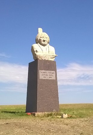 Mobridge, SD: Sitting Bull Grave (disputed), South Dakota