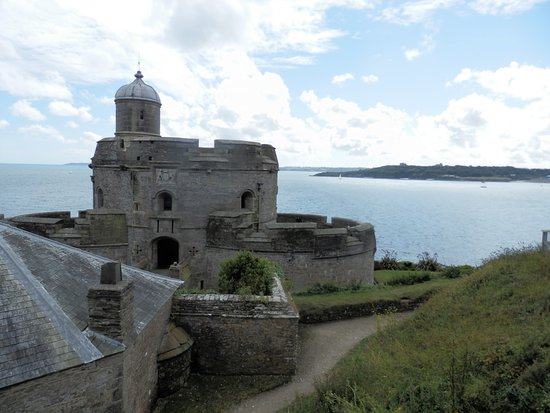 This view has both St Mawes & Pendennis castles.