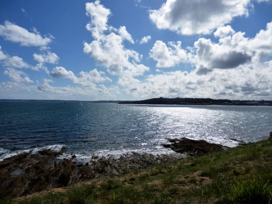 St Mawes, UK: The views are just breath-taking & very rewarding.