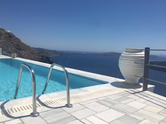 Homeric Poems: View from pool