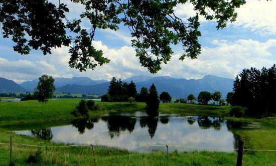 Schwangau, Deutschland: Das Toteis-Loch in Dietringen am Forggensee