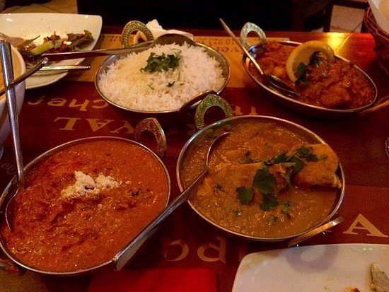 Great Variety Of Indian Dishes Butter Chicken Was My Favorite