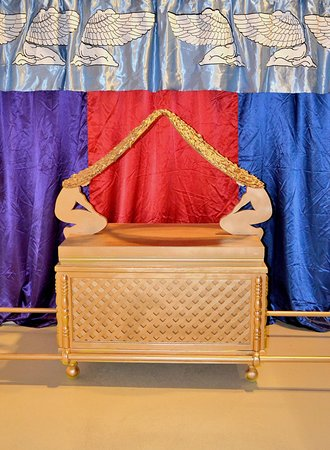 Life size replica Ark Of The Covenant