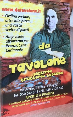 Da tavolone pise restaurant avis photos tripadvisor for A tavolone