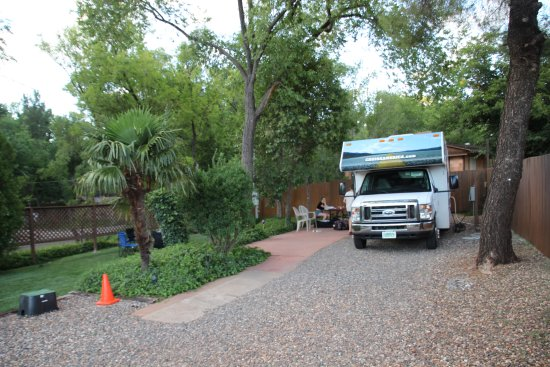 Rancho Sedona RV Park: L'emplacement Hilltop