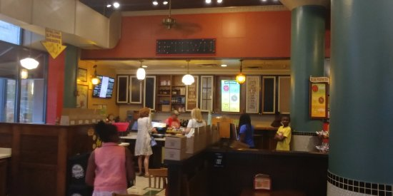 Evanston, Ιλινόις: Ordering and Pay area of Potbelly