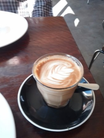 Blackheath, Australia: Latte.