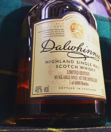 Dalwhinnie Single Malt only available at the Distillery