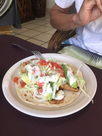 2247bd40 Smoked Fish Taco - Picture of Smoked Fish Taco, Puerto Escondido ...