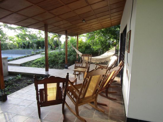 Masatepe, Nicaragua: Veranda van Casa Club
