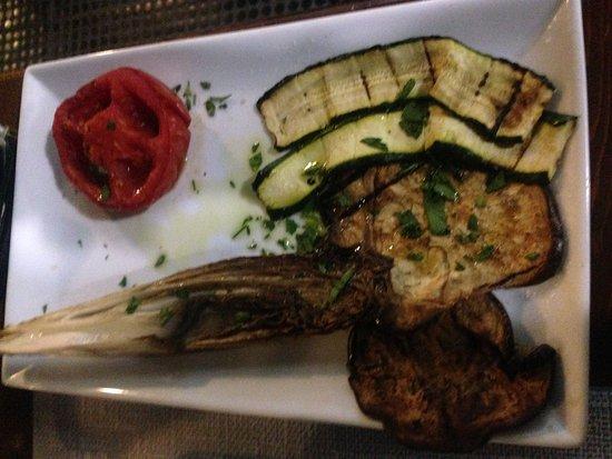 Fabriano, إيطاليا: Verdure grigliate
