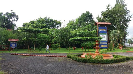 La Virgen, Costa Rica: Welcome to the Nature Park