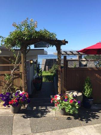 Burien, Waszyngton: The Cottage entrance