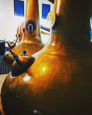 Aberlour, UK: Copper Stills (2nd Smallest in the Industry)