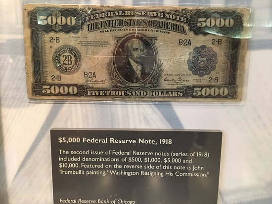 Federal Reserve Note Font