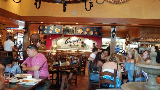 Fairfax, VA: Guapos Tortilla Making area