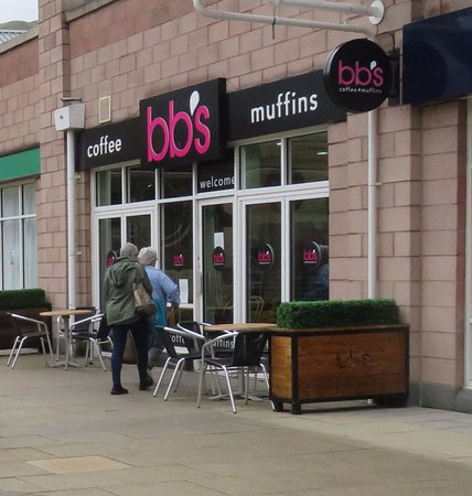 BB Muffins: entrance