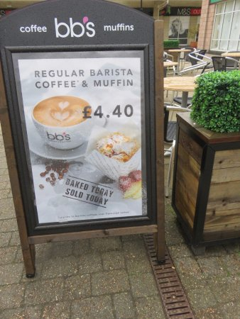BB Muffins: sign