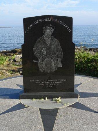 Port Clyde, ME: St. George Fishermen's Memorial