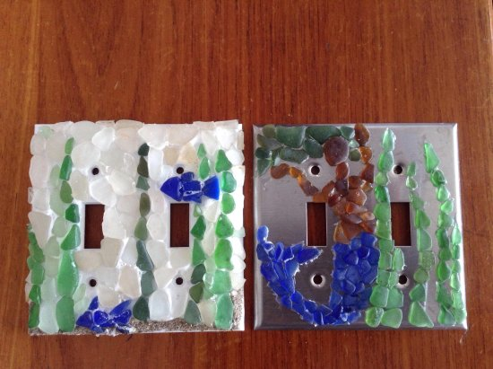 Ринкон, Пуэрто-Рико: dress the walls of your beach house with this natuical /mermaid switch plates:  oceangirlcollect