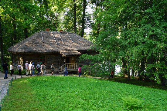 Osipovy-Wolf House Museum in Trigorskoe