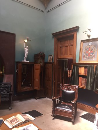 General Lew Wallace Study & Museum: original furnishings and books and artifacts