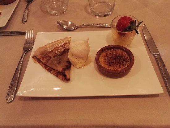 Gaillon, France: Diner - Dessert