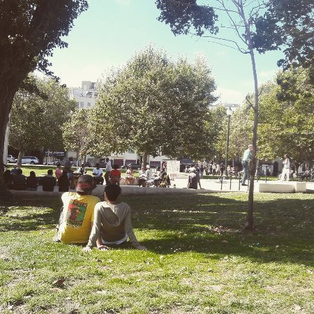 Oakland, Kalifornia: soulbeatz playing in the park