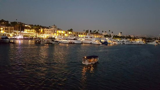 Around The Newport Beach Coast Cruising At Night Picture Of