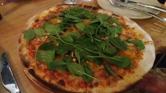 Timaru, Nueva Zelanda: pizza zucco