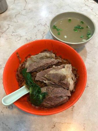 Best in Town Beef Brisket Dark Soya Sauce Dry Noodle