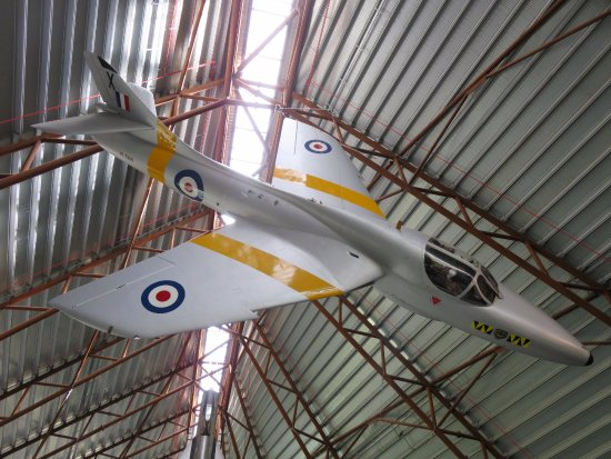 Shifnal, UK: Great displays of aircraft of all types - Cosford Museum (12/Aug/17).