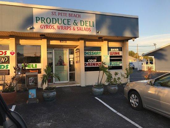 Saint Pete Beach Produce And Deli St Pete Beach Fl