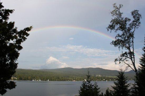 East Burke, VT: rainbow