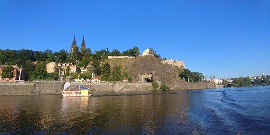 Národní Kulturní Památka Vyšehrad: view from the river