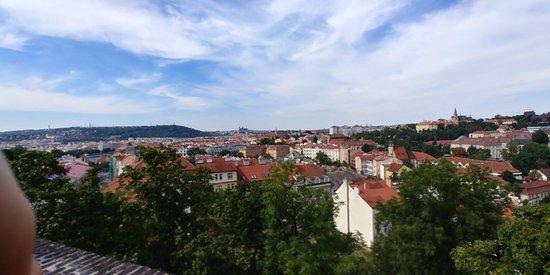 Národní Kulturní Památka Vyšehrad: view from the walls