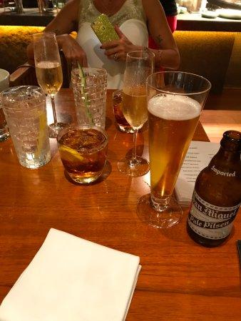 Mezza9: lots to drink