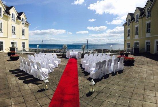 Galway Bay Hotel: Terrace