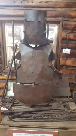 Glenrowan, Австралия: Replica Ned Kelly Armor