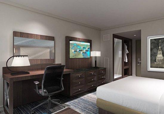 Burlington, MA: King Guest Room