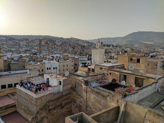 Riad Ibn Khaldoun : Terrace view overlooking Fes medina
