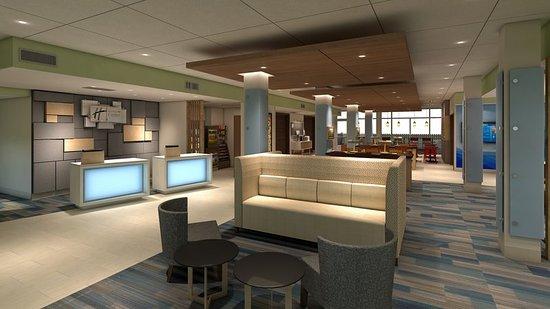 King George, VA: hotel lobby