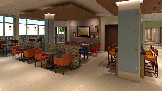 King George, VA: lobby of hotel