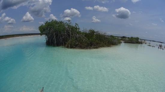 Bacalar Lagune Der 7 Farben Picture Of Santi Tour Playa Del