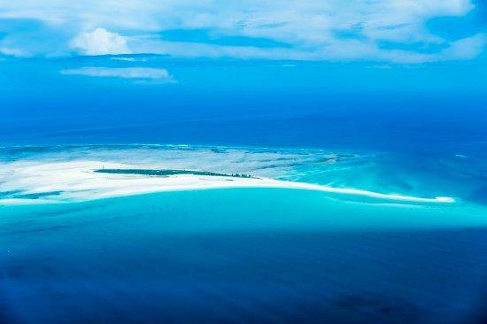 Quirimbas Archipelago, Mozambik: Island Aerial