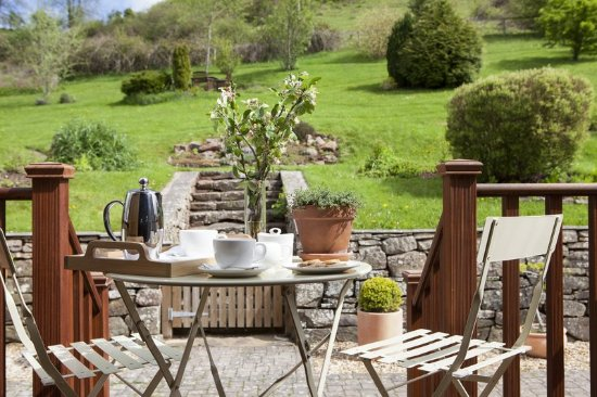 Clearwell, UK: Terrace