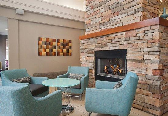 Hoover, AL: Lobby Fireplace