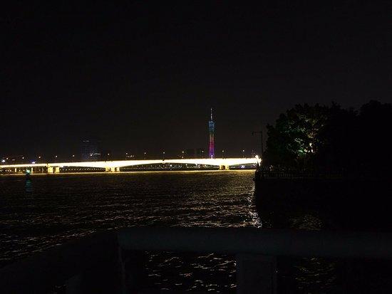 Pearl River (Zhujiang): 珠江夜景