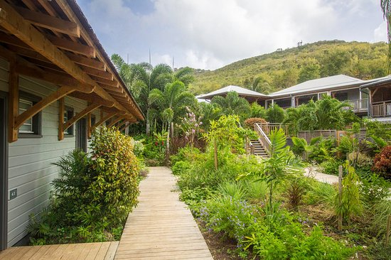 Tartane, Martinique : Jardin Bungalow